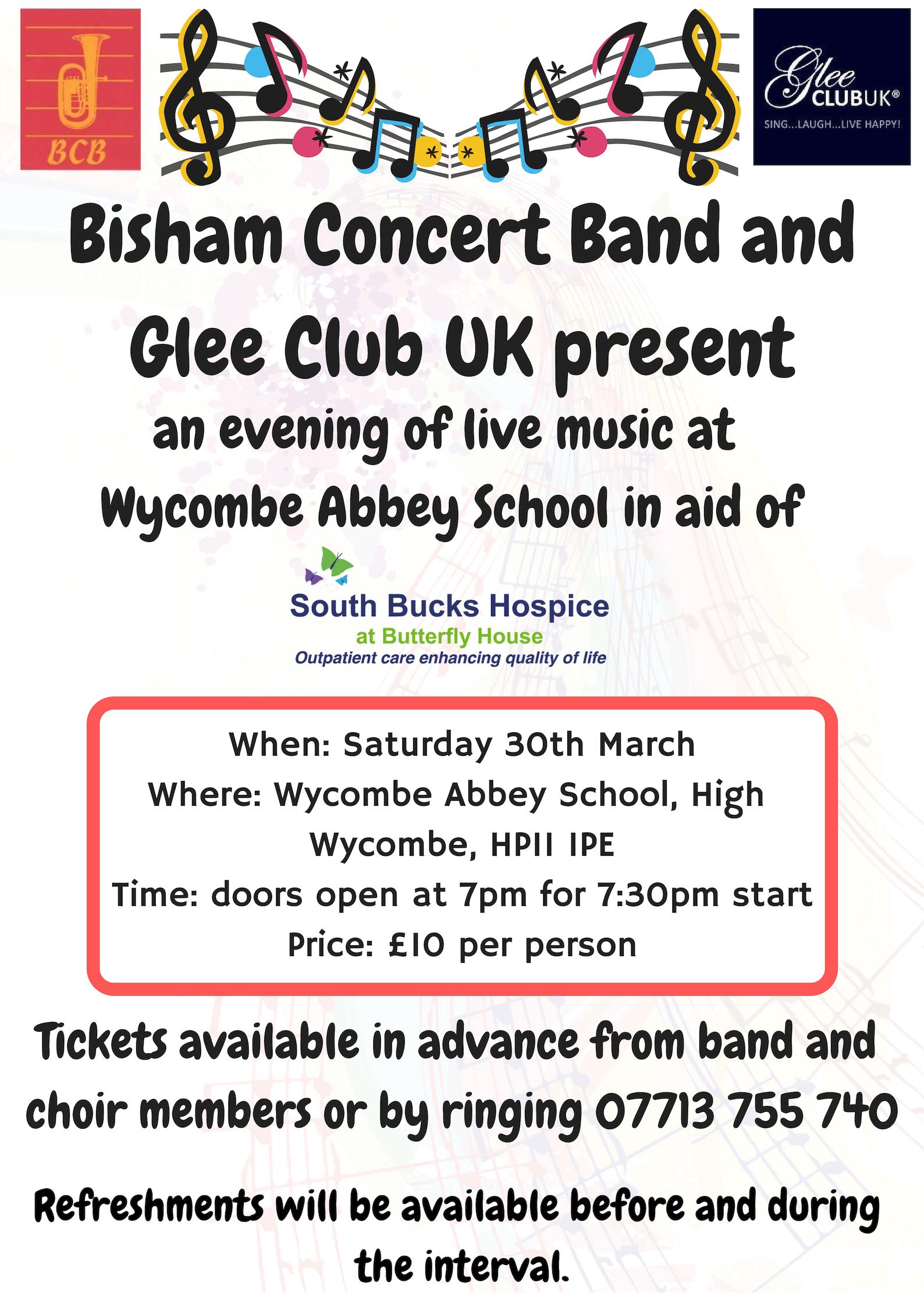 Copy Of Bisham Concert Band And Glee Club Uk Present 1