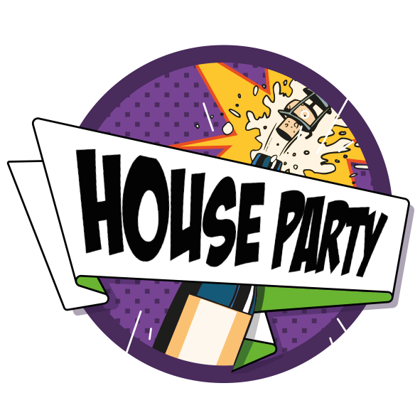 House Party On White 1 0