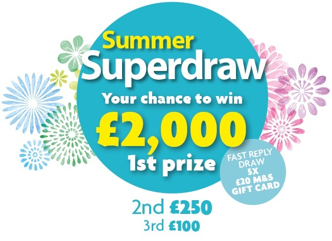 Summer Superdraw 2020 Graphic With Fast Reply