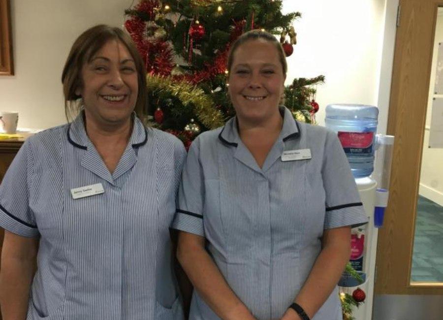 Nursing Staff Christmas 2017 Article