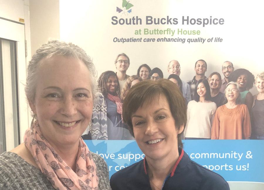 Suzanne Edwards With Nurse Carole Hildreth Edited For Website