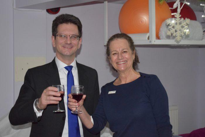 1  Steve Baker With Jo Woolf